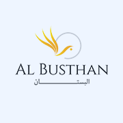 web designing client al busthan logo
