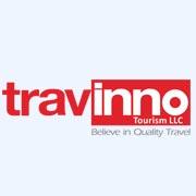 web designing client travinno logo