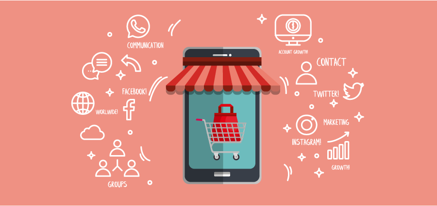Role of Social media in Ecommerce