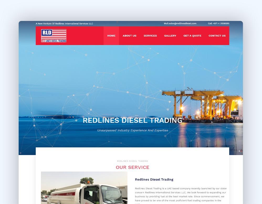web designing client redlines Diesel