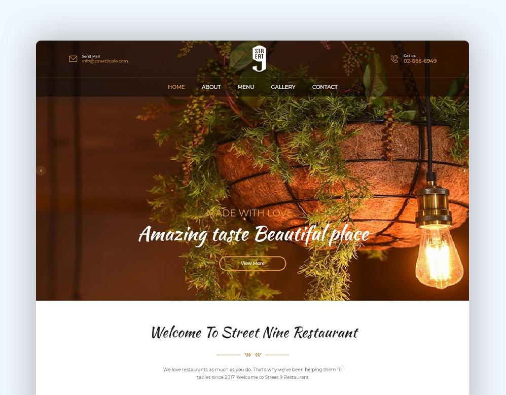 web designing Client Street nine Client