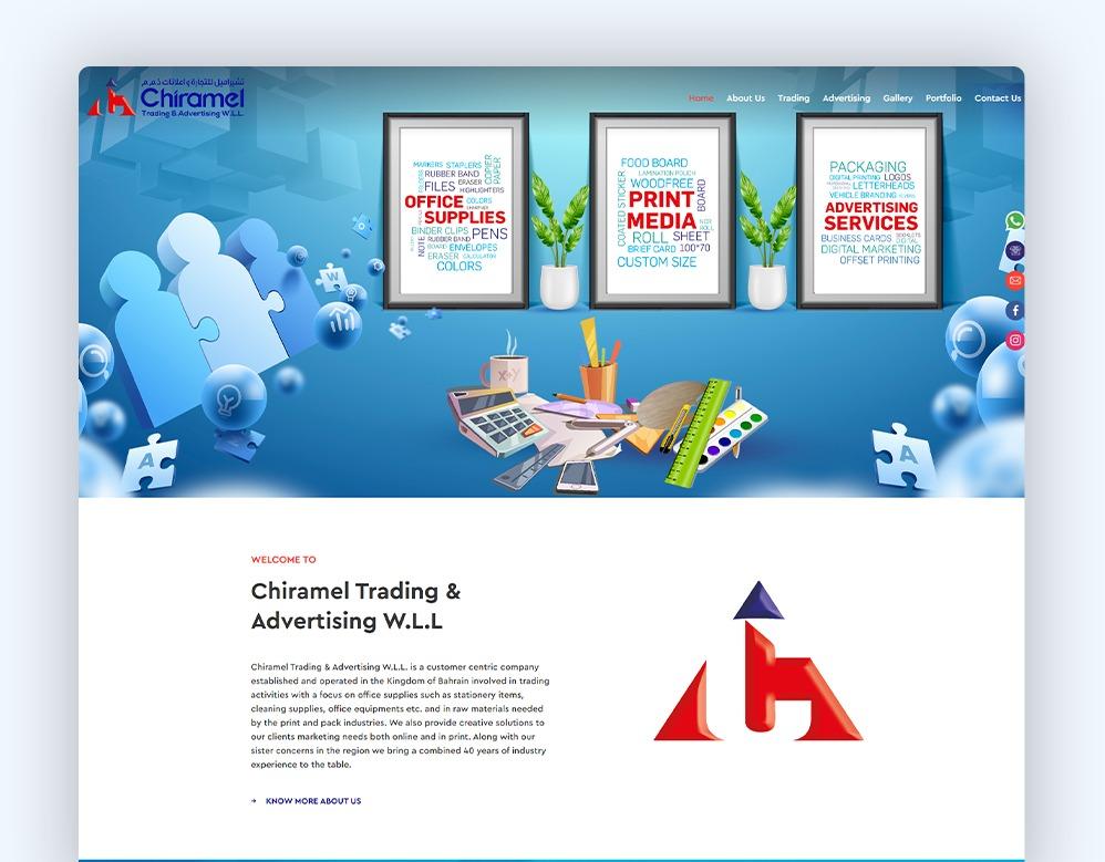 web designing Client Tom Haulage
