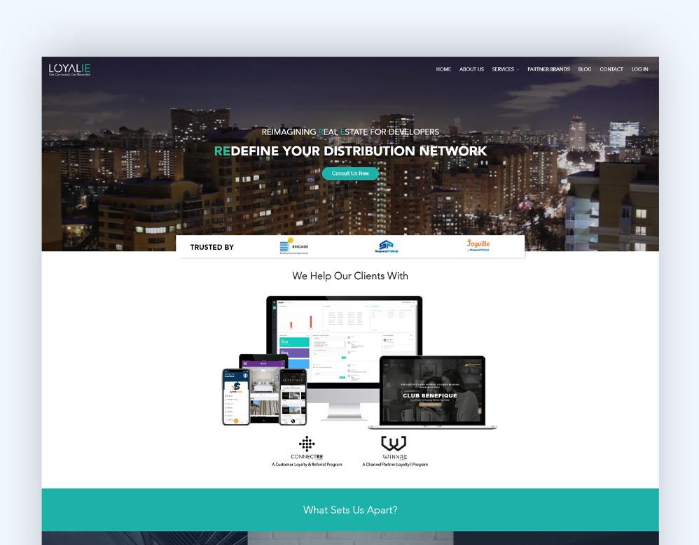 web designing Client Loyalie