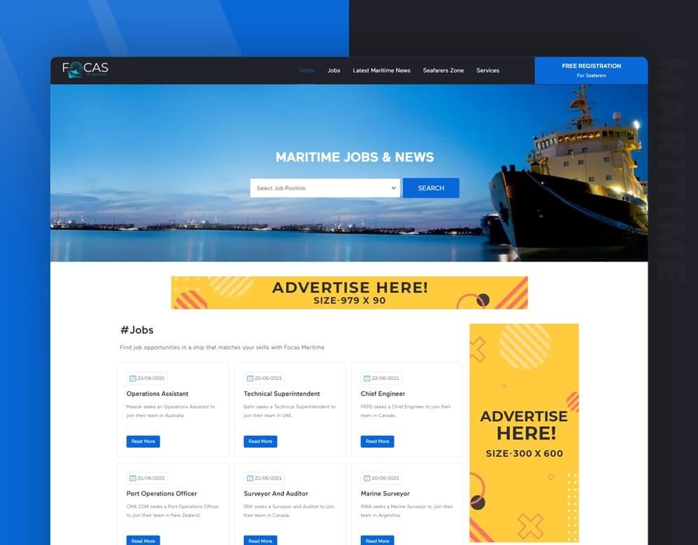 seo client Focas Maritime